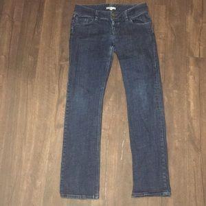 CAbi 8 double button jeans